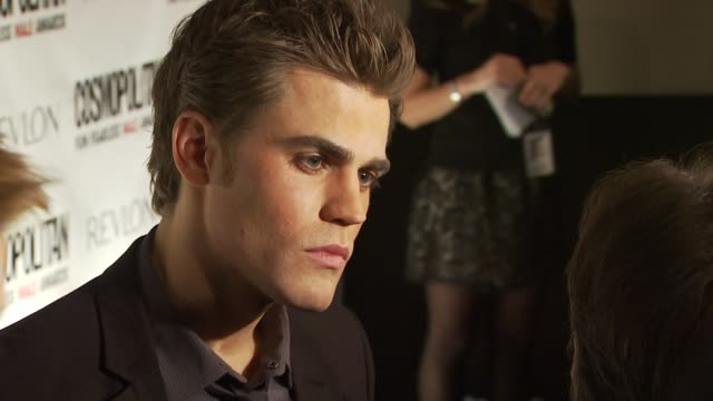 Paul Wesley at the Cosmopolitan Magazine's Fun Fearless Males Of 2010 at New York NY