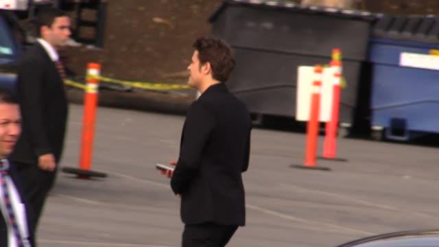Paul Wesley departs the 2015 Spirit Awards in Santa Monica in Celebrity Sightings in Los Angeles