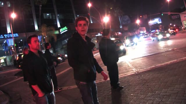 Paul Wesley leaving Trousdale in West Hollywood at the Celebrity Sightings in Los Angeles at Los Angeles CA