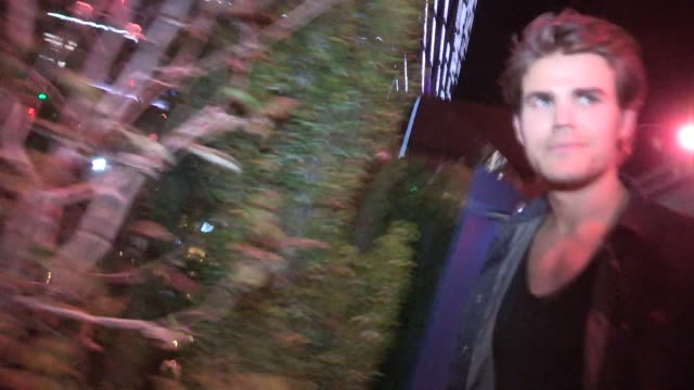 Paul Wesley on comparing Georgia vs California while entering SoHo House in West Hollywood at Celebrity Sightings in Los Angeles on May 07 2014 in...