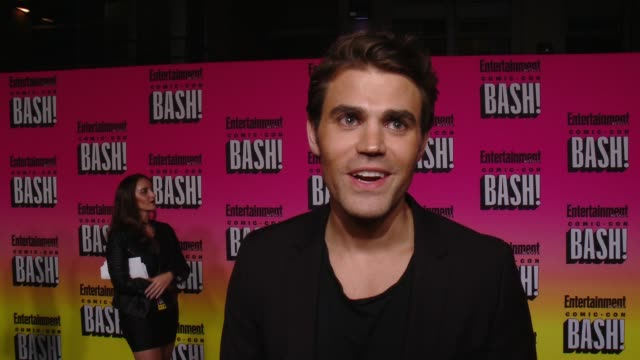 INTERVIEW Paul Wesley on his ComicCon experience and why he wanted to celebrate the last night with EW at Entertainment Weekly Hosts Annual ComicCon...