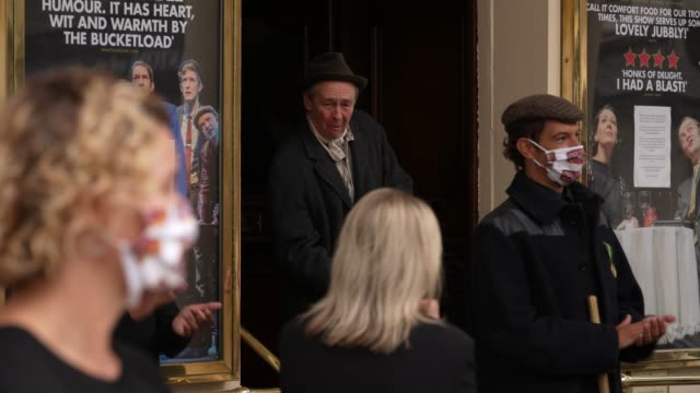 paul whitehouse at theatre royal haymarket on september 3, 2020 in london, england. - theatre royal haymarket stock videos & royalty-free footage