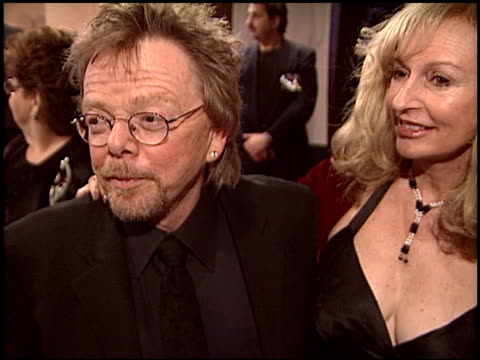 paul williams at the night of 100 stars oscar gala at the beverly hilton in beverly hills california on february 29 2004 - 76th annual academy awards stock videos & royalty-free footage