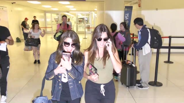 Paula Abdul arriving at LAX Airport in Los Angeles in Celebrity Sightings in Los Angeles