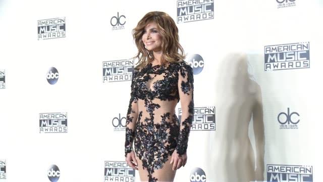 Paula Abdul at 2015 American Music Awards in Los Angeles CA