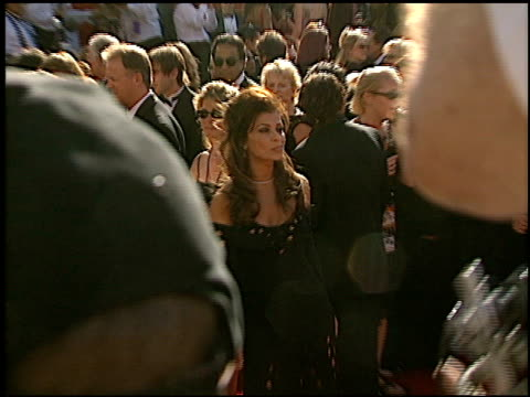 paula abdul at the 2002 emmy awards at the shrine auditorium in los angeles, california on september 22, 2002. - shrine auditorium stock videos & royalty-free footage