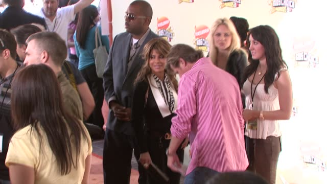 paula abdul at the 2007 nickelodeon's kids' choice awards at ucla's pauley pavilion in los angeles california on march 31 2007 - paula abdul stock videos & royalty-free footage