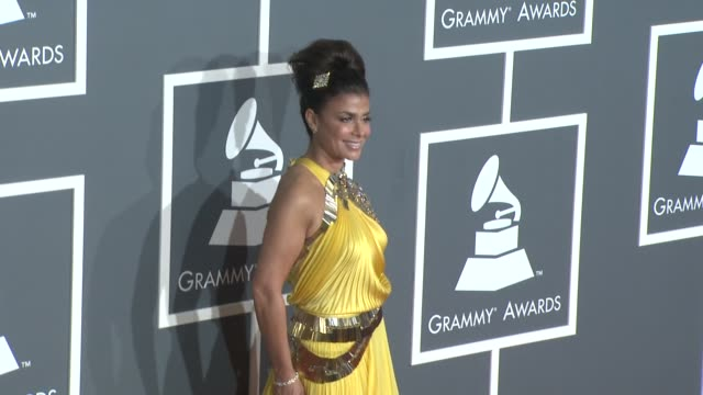 paula abdul at the 51st annual grammy awards part 5 at los angeles ca - paula abdul stock videos & royalty-free footage
