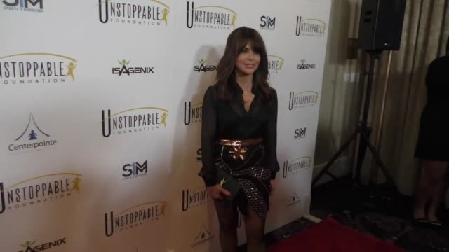 Paula Abdul at The 8th Annual Unstoppable Gala at The Beverly Hilton Hotel on March 25 2017 in Beverly Hills California