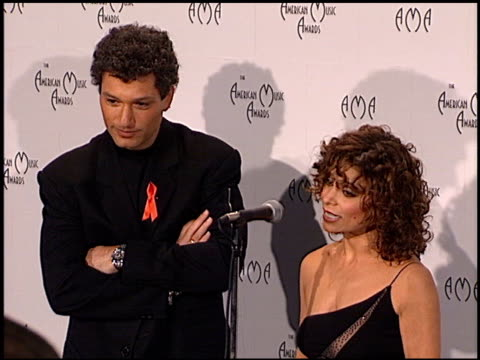 paula abdul at the american music awards 1998 at the shrine auditorium in los angeles california on january 26 1998 - paula abdul stock videos & royalty-free footage