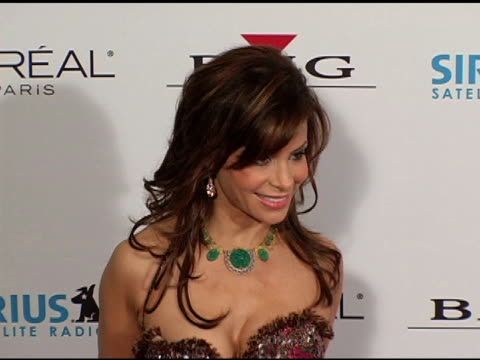 paula abdul at the clive davis' 2005 pregrammy awards party arrivals at the beverly hilton in beverly hills california on february 12 2005 - paula abdul stock videos & royalty-free footage