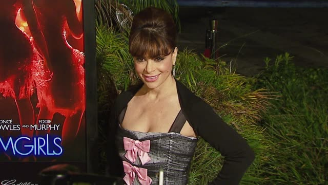 paula abdul at the dreamworks pictures' and paramount pictures' 'dreamgirls' los angeles premiere at wilshire theatre in beverly hills california on... - paula abdul stock videos & royalty-free footage