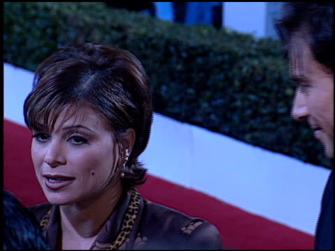 paula abdul at the 'evita' premiere at the shrine auditorium in los angeles california on december 14 1996 - paula abdul stock videos & royalty-free footage