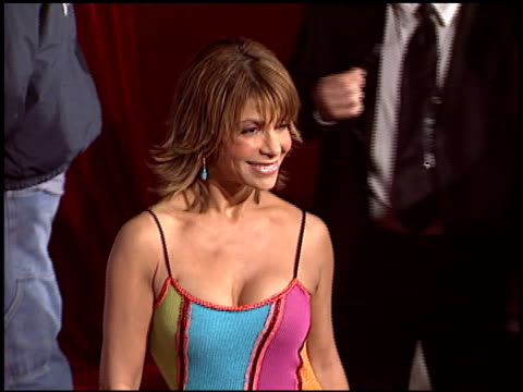 paula abdul at the magic johnson tribute at the shrine auditorium in los angeles california on february 12 2004 - paula abdul stock videos & royalty-free footage