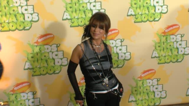 Paula Abdul at the Nickelodeon's 22nd Annual Kids' Choice Awards at Los Angeles CA