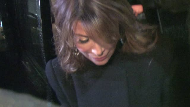 paula abdul greets fans in hollywood on 12/12/11 - paula abdul stock videos & royalty-free footage
