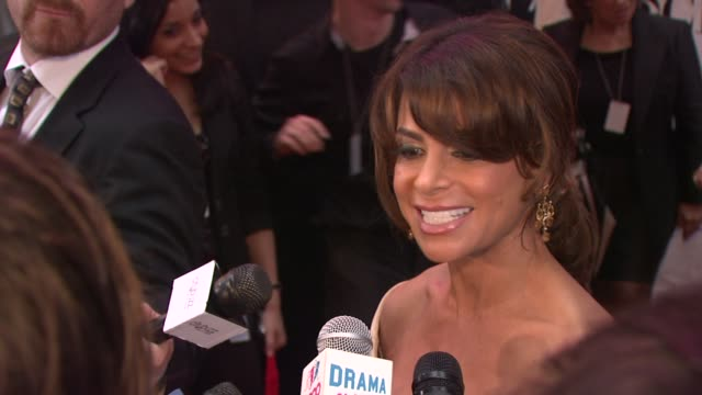 Paula Abdul on being excited to present the award for Best Choreography Talks about choreography bringing a show to life at the 64th Annual Tony...