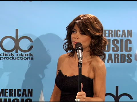 Paula Abdul on her dress her jewelry supporting American Idol saluting Michael Jackson being proud of past American Idol contestants who are at the...