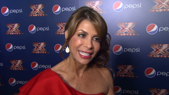 paula abdul on how she felt about the outcome of the top 10 and the most memorable moment of the night - paula abdul stock videos & royalty-free footage