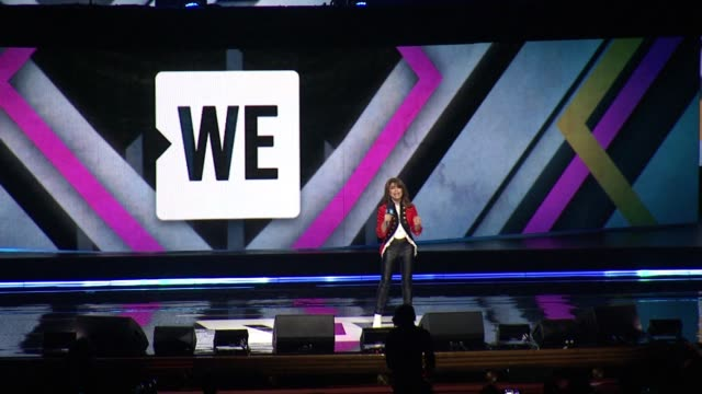 SPEECH – Paula Abdul on knowing one's passion on going on a ME to WE trip to Kenya at WE Day New York Welcome to celebrate Young People Changing the...