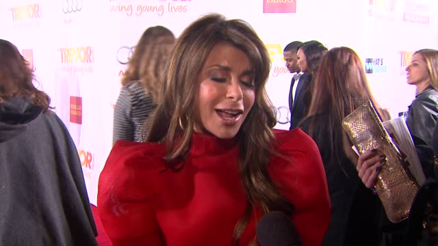 INTERVIEW Paula Abdul on what bring her out and introducing Adam Lambert at TrevorLIVE Los Angeles Benefit Celebrating The Trevor Project's 15th...
