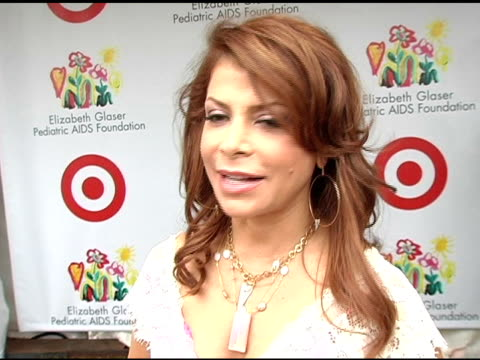 paula abdul on why she is a longtime supporter of the elizabeth glaser foundation on her passions in life on always being a teacher and on her summer... - paula abdul stock videos & royalty-free footage