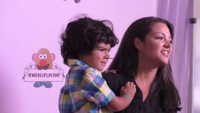 Paula Garces Antonio Andres Hernandez at the Zimmer Children's Museum Event on April 30 2017 in Los Angeles California