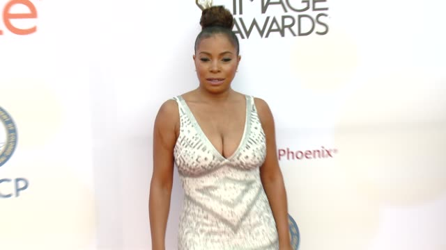 stockvideo's en b-roll-footage met paula jai parker at the 46th annual naacp image awards arrivals at pasadena civic auditorium on february 06 2015 in pasadena california - pasadena civic auditorium