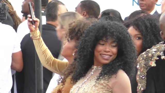 Paula Jai Parker at the 49th NAACP Image Awards at Pasadena Civic Auditorium in Pasadena in Celebrity Sightings in Los Angeles