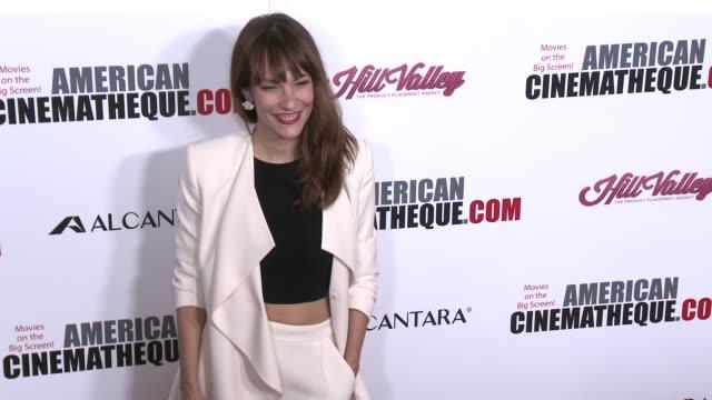 vídeos y material grabado en eventos de stock de paula ortiz at 30th annual american cinematheque awards gala in los angeles ca - premio american cinematheque
