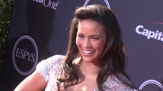 vídeos y material grabado en eventos de stock de paula patton at the 2013 espy awards on 7/17/2013 in los angeles ca - premios espy