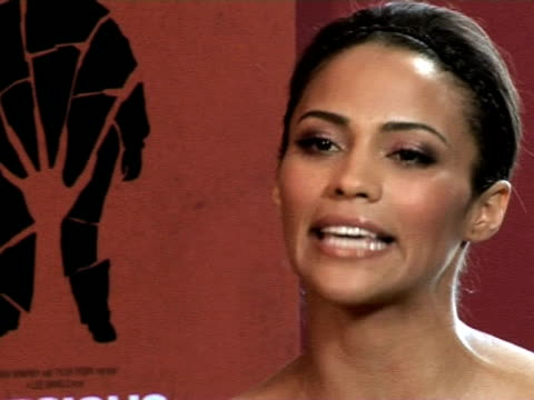 paula patton on her character in the film at the cannes film festival 2009 precious interviews at cannes - precious gemstone stock videos & royalty-free footage