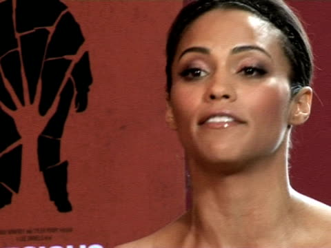 vidéos et rushes de paula patton on improvising and the freedom the actors had at the cannes film festival 2009 precious interviews at cannes - pierre précieuse