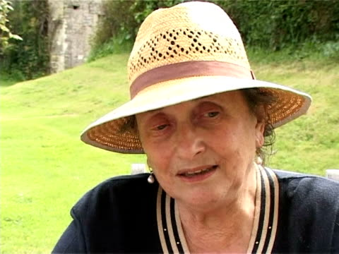 paulette and bernard were children when they saw nearly 20000 american soldiers land at omaha beach collevillesurmer calvados france - omaha beach stock videos and b-roll footage