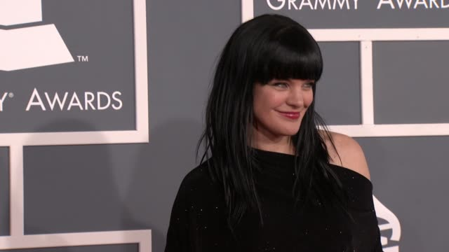 Pauley Perrette at 54th Annual GRAMMY Awards Arrivals on 2/12/12 in Los Angeles CA