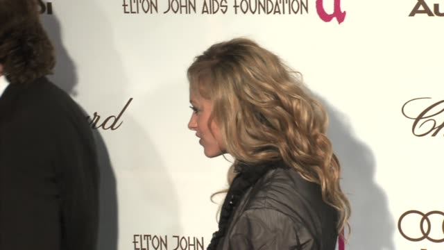 Paulina Rubio at the 14th Annual Elton John AIDS Foundation Oscar Party Cohosted by Audi Chopard and VH1 at the Pacific Design Center in West...