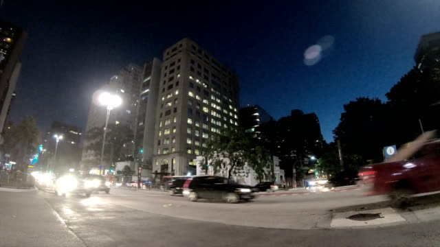 paulista avenue - brazil - avenue stock videos & royalty-free footage