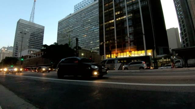 paulista avenue - brazil - avenida paulista stock videos & royalty-free footage
