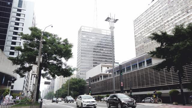 paulista avenue - avenida paulista stock videos & royalty-free footage