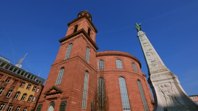 paulskirche, frankfurt am main, hesse, germany - christianity stock videos & royalty-free footage