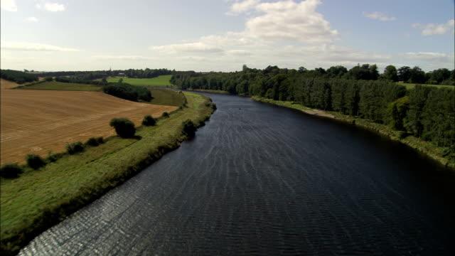 Paxton House  - Aerial View - Scotland, Scottish Borders, United Kingdom
