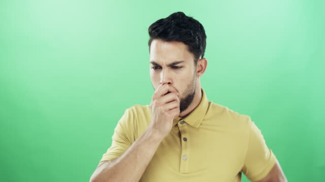 pay attention to the signs and symptoms - coughing stock videos & royalty-free footage