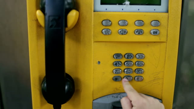 pay phone, child chand - telephone box stock videos & royalty-free footage