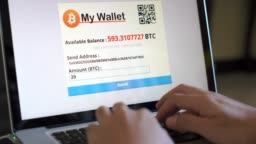 Paying with bitcoin wallet