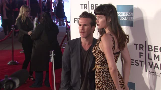 stockvideo's en b-roll-footage met paz de la huerta and guest at the 2011 tribeca film festival premiere of 'god bless ozzy osbourne' at new york ny - la paz filmtitel