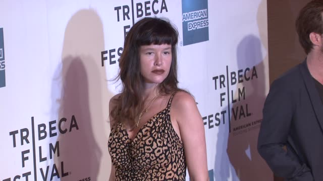 stockvideo's en b-roll-footage met paz de la huerta at the 2011 tribeca film festival premiere of 'god bless ozzy osbourne' at new york ny - la paz filmtitel