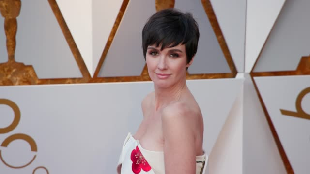 paz vega at 90th academy awards arrivals 4k footage at dolby theatre on march 04 2018 in hollywood california - 90th annual academy awards stock videos & royalty-free footage