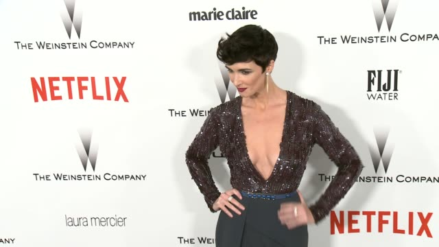 Paz Vega at the 2015 Weinstein Company And Netflix Golden Globe After Party at Robinsons May Lot on January 11 2015 in Beverly Hills California