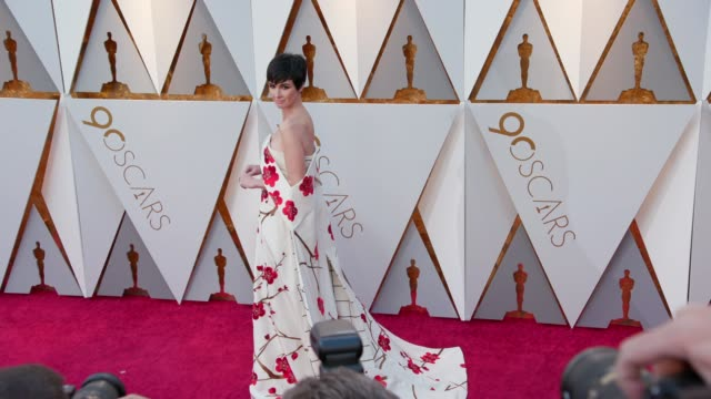 Paz Vega at the 90th Academy Awards Arrivals at Dolby Theatre on March 04 2018 in Hollywood California