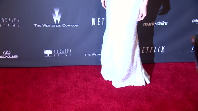 vídeos de stock, filmes e b-roll de paz vega at the weinstein company & netflix 2014 golden globes after party at the beverly hilton hotel on in beverly hills, california. - the beverly hilton hotel